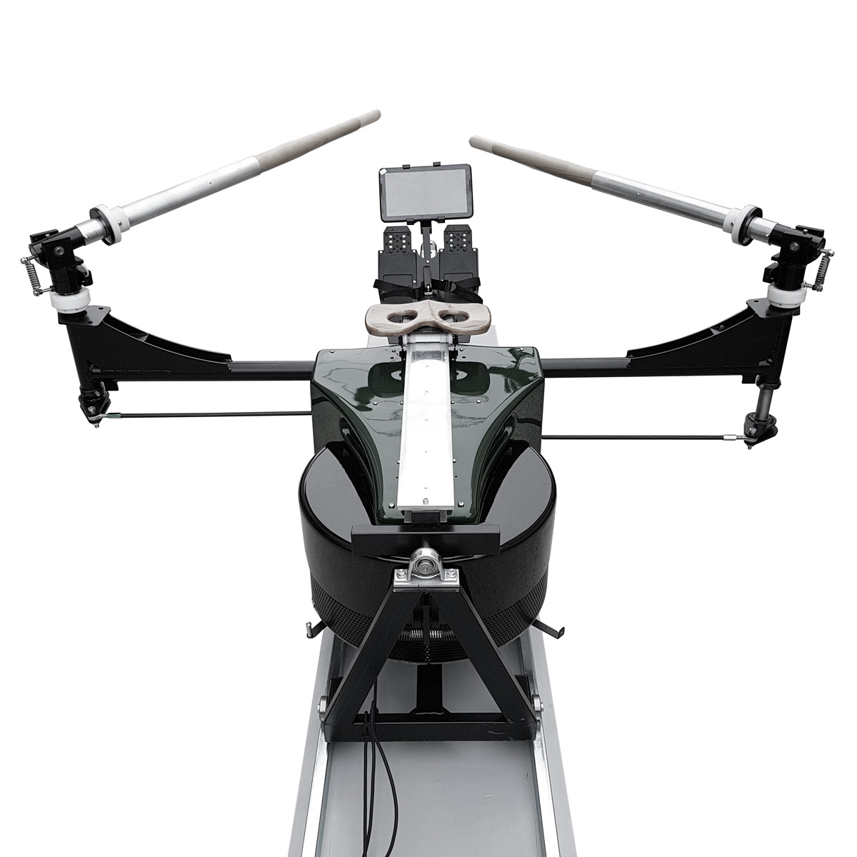 The Biorower S1pro is the most accurate rowing machine in the world - it comes with adjustble inboards, like your boat.
